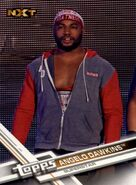 2017 WWE (Topps) Then, Now, Forever Angelo Dawkins 167