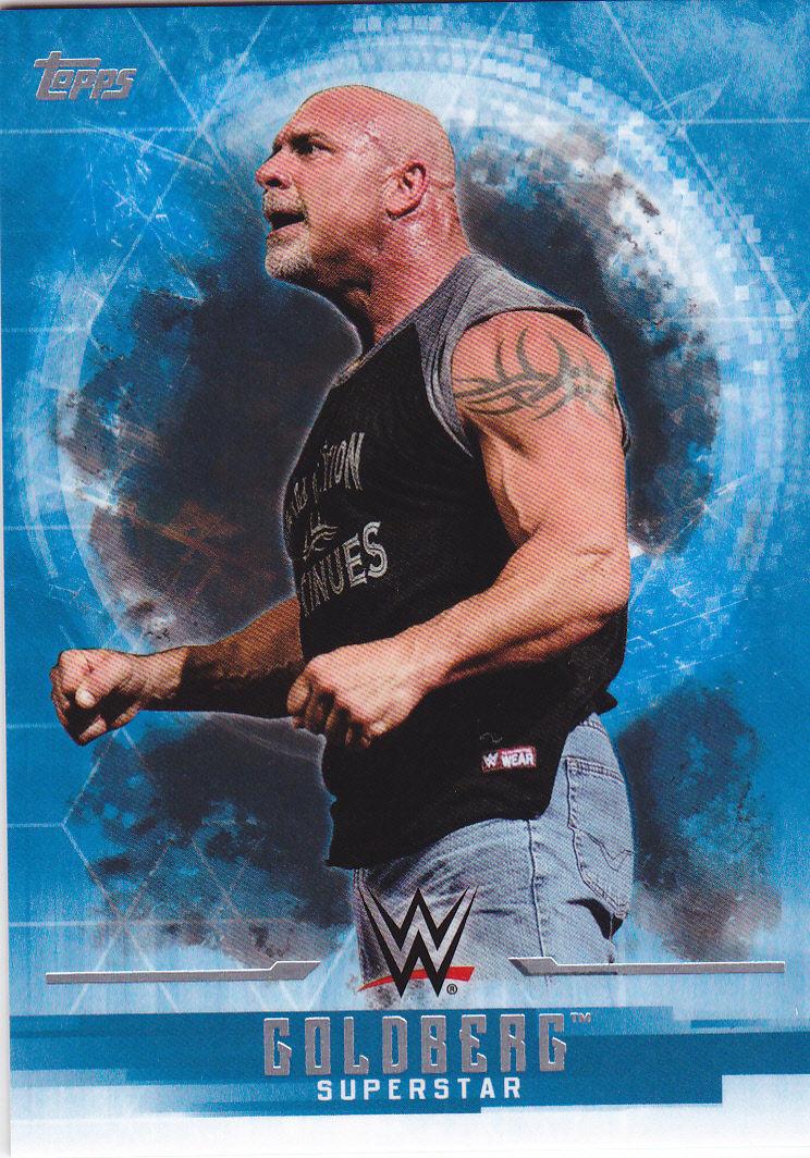 2017 WWE Undisputed Wrestling Cards (Topps) Goldberg (No.15)