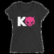 Kevin Owens & Natalya Team Pawz Logo Women's Tri-Blend T-Shirt