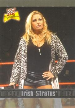 2001 WWF The Ultimate Diva Collection (Fleer) Trish Stratus (No.80)