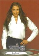 2003 WWE WrestleMania XIX (Fleer) Stephanie 66