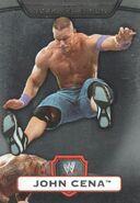 2010 WWE Platinum Trading Cards (Topps) John Cena 1