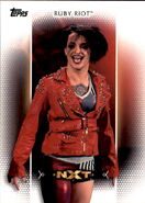2017 WWE Women's Division (Topps) Ruby Riot 11