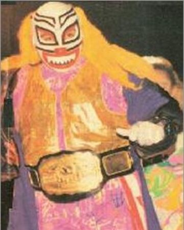 Mexican Wrestling PAYASO Orange