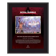 Edge Royal Rumble 2021 10 x 13 Commemorative Plaque
