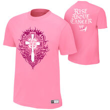 Sheamus Rise Above Cancer Pink Authentic T-Shirt.jpg