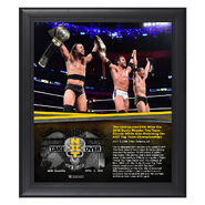 Undisputed Era NXT TakeOver New Orleans 15 x 17 Framed Plaque