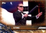 2017 WWE Road to WrestleMania Trading Cards (Topps) Sting 51