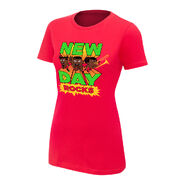 New Day New Day Rocks Red Women's Special Edition T-Shirt