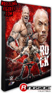 The Rock - WWE 16x20 Canvas Print