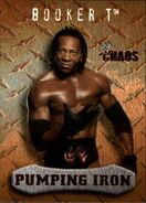 2004 WWE Chaos (Fleer) Booker T (No.93)