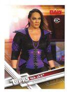 2017 WWE Wrestling Cards (Topps) Nia Jax 26