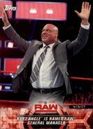 2018 WWE Road to Wrestlemania Trading Cards (Topps) Kurt Angle 29
