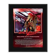 Asuka Backlash 2020 10x13 Commemorative Plaque