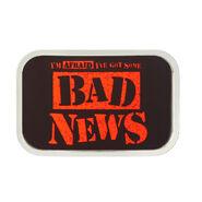 Bad News Barrett BNB Belt Buckle