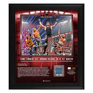 King Corbin TLC 2019 15x17 Limited Edition Plaque