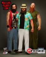 Wyatt Family - WWE 16x20 Canvas Print