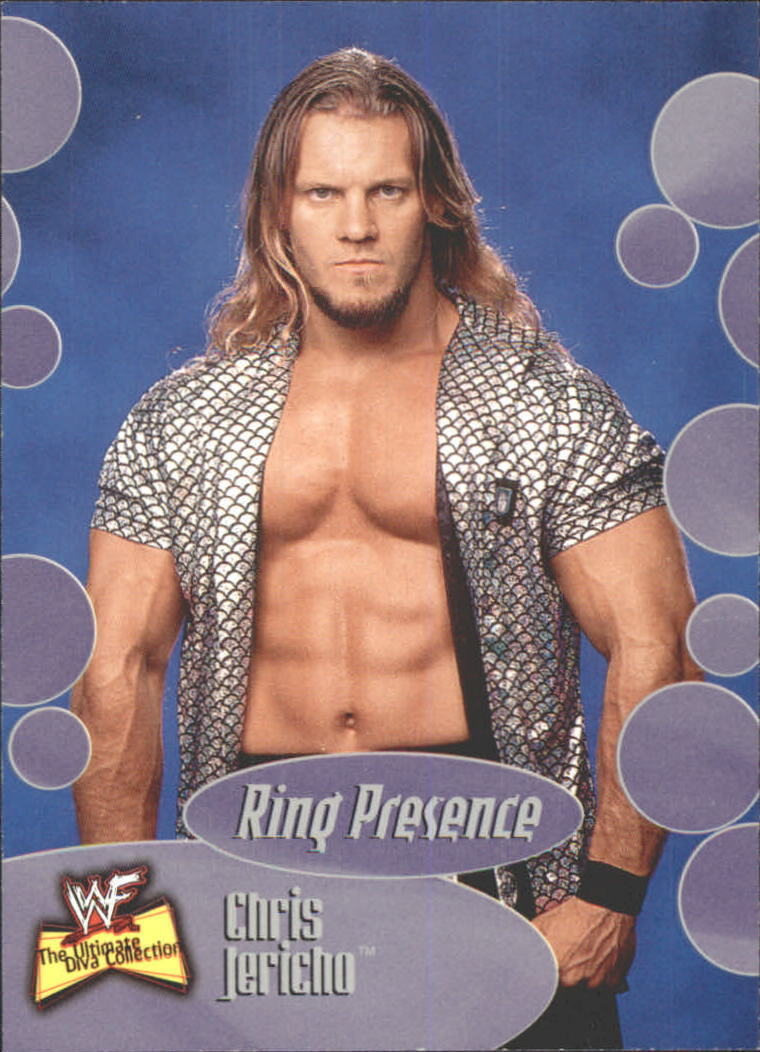 2001 WWF The Ultimate Diva Collection (Fleer) Chris Jericho (No.63)