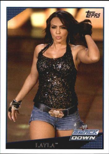 2009 WWE (Topps) Layla (No.16)