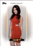 2017 WWE Women's Division (Topps) Cathy Kelley 4