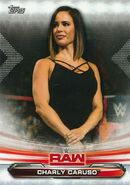 2019 WWE Raw Wrestling Cards (Topps) Charly Caruso 17