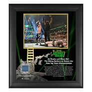 AJ Styles & Omos Money In The Bank 15x17 Commemorative Plaque