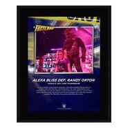 Alexa Bliss Fastlane 2021 10 x 13 Commemorative Plaque
