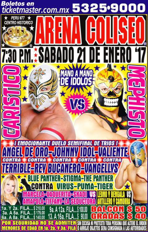 CMLL Sabados De Coliseo (January 21, 2017)