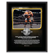 Keith Lee NXT TakeOver Portland 10 x 13 Limited Edition Plaque