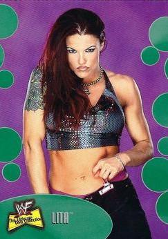 2001 WWF The Ultimate Diva Collection (Fleer) Lita (No.5)