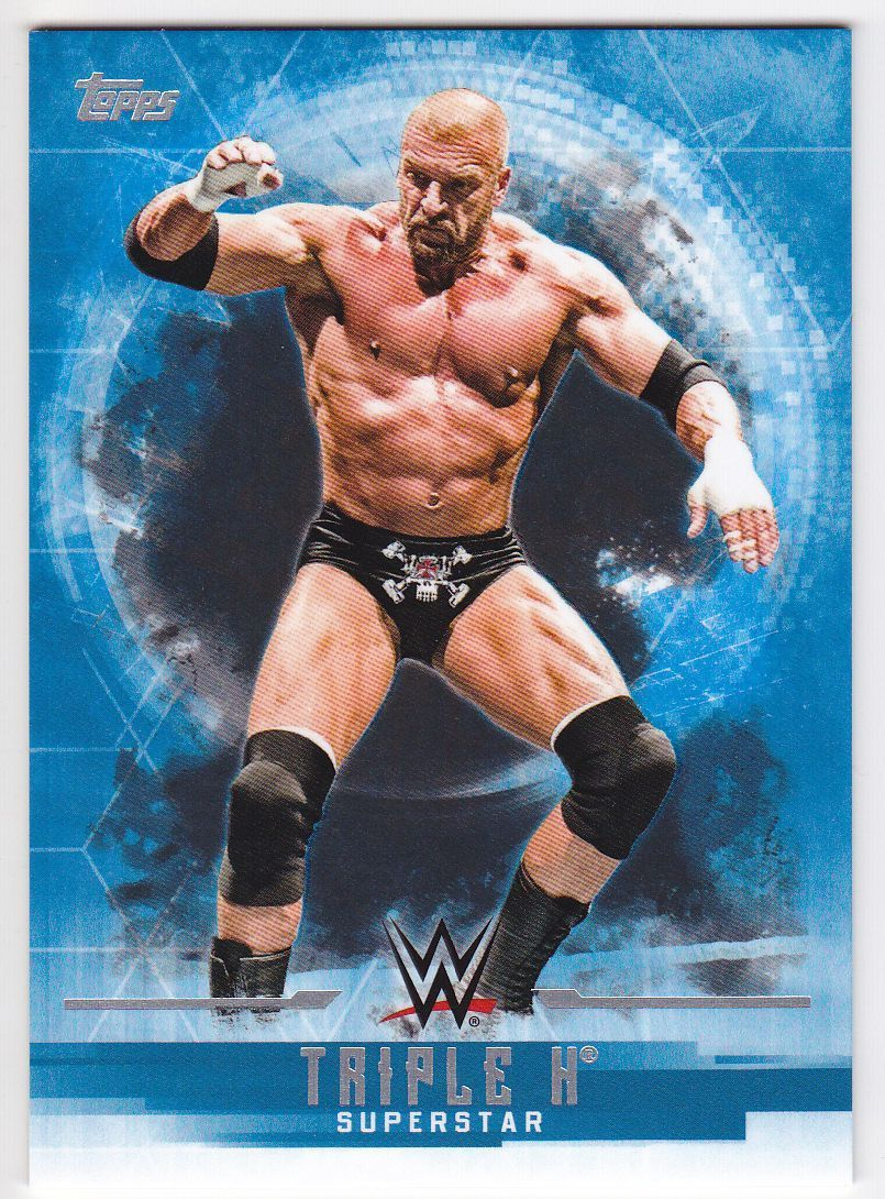 2017 WWE Undisputed Wrestling Cards (Topps) Triple H (No.37)