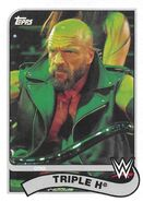 2018 WWE Heritage Wrestling Cards (Topps) Triple H 84