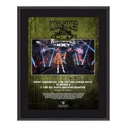 Johnny Gargano NXT TakeOver WarGames 2020 10x13 Commemorative Plaque