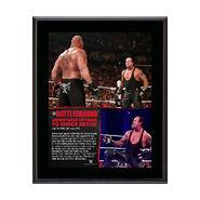 The Undertaker Battleground 10.5 x 13 Photo Collage Plaque