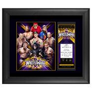 WrestleMania 30 Ticket Plaque