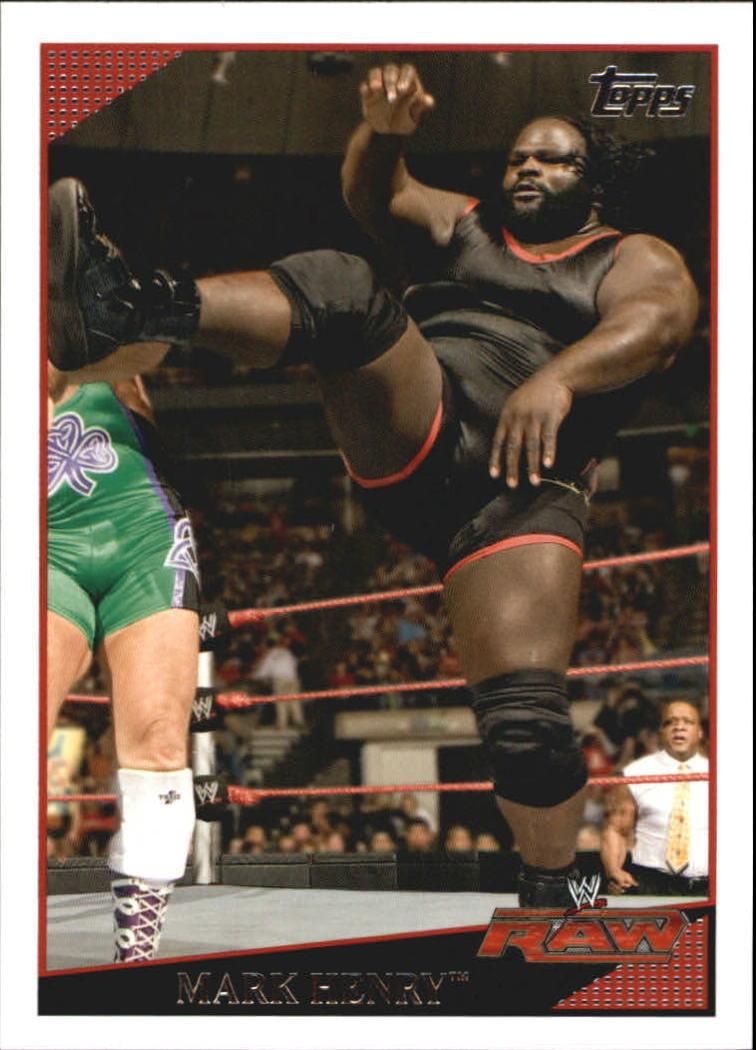 2009 WWE (Topps) Mark Henry (No.31)