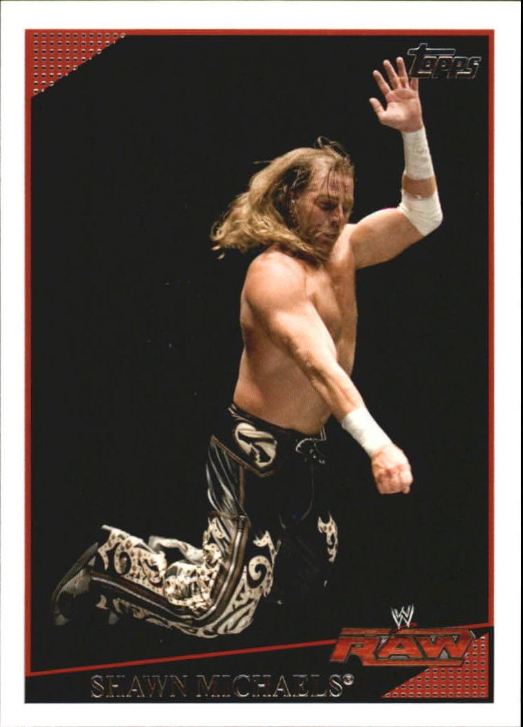 2009 WWE (Topps) Shawn Michaels (No.60)