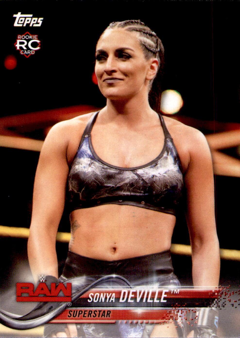 2018 WWE Wrestling Cards (Topps) Sonya Deville (No.85)