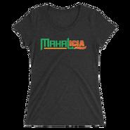 Jinder Mahal & Alicia Fox MMC Mahalicia Women's Tri-Blend T-Shirt