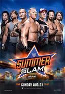 SummerSlam 2016 poster