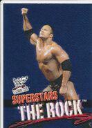 2001 WWF WrestleMania (Fleer) The Rock 1
