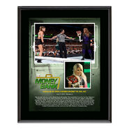 Alexa Bliss Money in The Bank 2018 10 x 13 Plaque