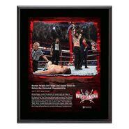 Roman Reigns WrestleMania 37 10x13 Commemorative Plaque