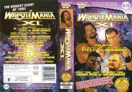 WWF Wrestlemania XI - Cover