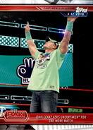 2019 WWE Road to WrestleMania Trading Cards (Topps) John Cena 31