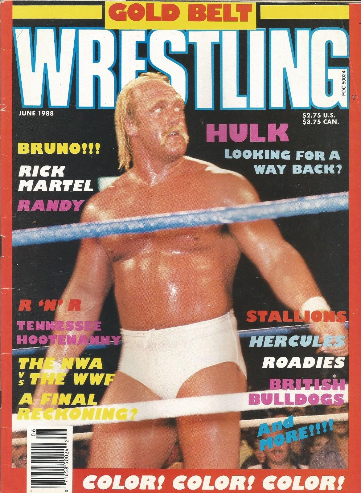 Gold Belt Wrestling - June 1988