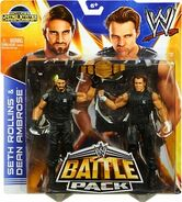 WWE Battle Packs 26 Seth Rollins & Dean Ambrose
