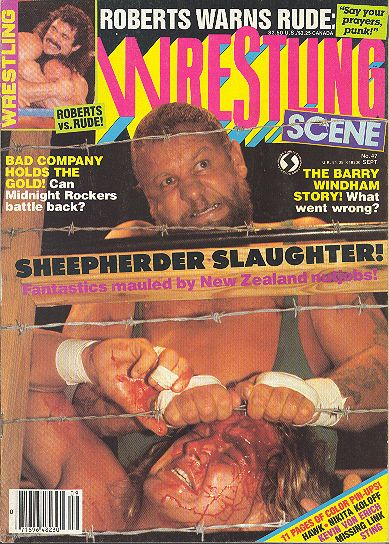 Wrestling Scene - September 1988
