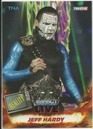 2013 TNA Impact Wrestling Live Trading Cards (Tristar) Jeff Hardy 68
