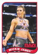 2018 WWE Heritage Wrestling Cards (Topps) Mickie James 50